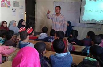 آثار سوهاج تُنظم حملة لنشر الوعي الأثرى بين تلاميذ المدارس | صور