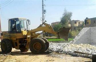 إزالة 15 ألف متر ردم على 4 آلاف متر من أراضي طرح النهر بالمعصرة | فيديو وصور