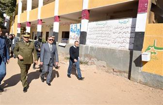 مدير أمن سوهاج يتفقد اللجان الانتخابية بجرجا