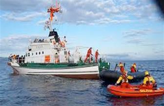 لانش إيطالي يتمكن من إنقاذ 16 صيادًا مصريًا من الغرق