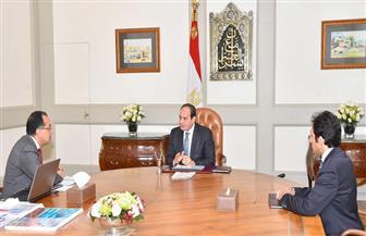 الرئيس السيسي يجتمع بمدبولي ويوجه بوضع مخطط شامل لتنمية قرية الروضة