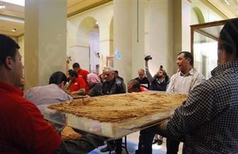 نقل 3 قطع أثرية لتوت عنخ آمون للمتحف المصري الكبير | صور