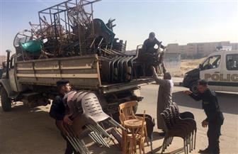 رفع 743 حالة إشغال وإزالة 25 حاجزا في مدن الغربية