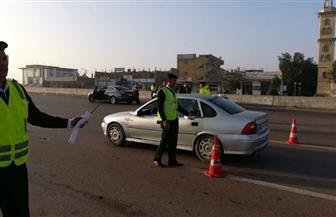 المرور: حملات على الطرق السريعة وتحرير 852 قضية
