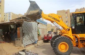 تنفيذ 35 قرار إزالة تعديات بشوارع حي فيصل
