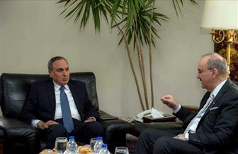 عبد المحسن سلامة يبحث مع السفير العراقي سبل تفعيل وتدعيم التعاون الإعلامي بين الجانبين