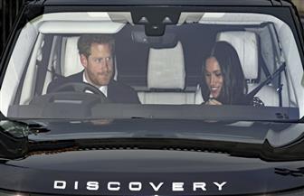 الأمير هاري وخطيبته ميجان ماركل يحضران الغداء الملكي بقصر باكنجهام