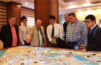 وفد شركة (CRBC) الصينية يتفقد موقع إنشاء محطة متعددة الأغراض بميناء سفاجا