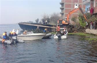 إزالة 25 تعديا على نهر النيل في يومين بـ5 محافظات