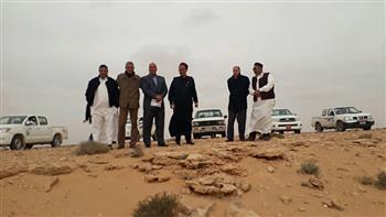 غابة شجرية جديدة  جنوب مدينة مرسى مطروح  بـ29 كيلو للقضاء على مشكلة  تسرب مياه الصرف الصحي