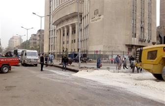 نرصد الساعات الأولى لإغلاق شارع السودان لإنشاء محطتى مترو .. وغضب أصحاب المحلات |  صور