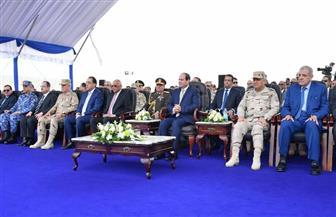 الرئيس السيسي يصل إلى الإسماعيلية لافتتاح عدد من المشروعات بمدن القناة
