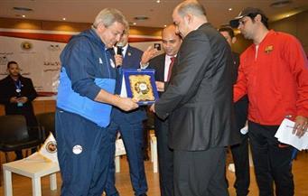 """تكريم وزير الشباب والرياضة في مؤتمر """"كلنا إنسان""""   صور"""