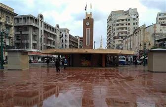 أمطار متوسطة على الإسكندرية ومناطق متفرقة من الساحل الشمالي