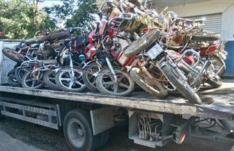 ضبط 1154 دراجة نارية مخالفة في 4 أيام