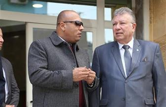 """محافظ المنوفية ورئيس """"حماية المستهلك"""" يتفقدان المقر الجديد للجهاز بشبين الكوم  صور"""