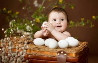 هذا ما يجري لطفلك الرضيع إذا تناول بيضة واحدة يوميًا لمدة 6 أشهر