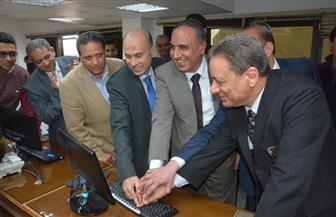 """سلامة وجبر يدشنان الانطلاقة الجديدة لـ""""بوابة الأهرام""""   صور"""