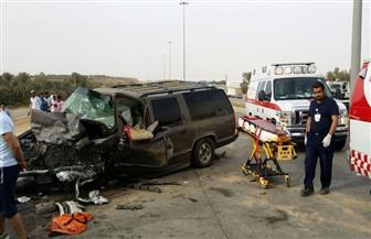 """إصابة 8 أشخاص في حادث تصادم سيارتين بطريق """"قنا – سوهاج"""""""