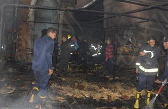 التفاصيل الكاملة لحريق كنيسة الأقصر.. والأقباط يواصلون احتفالاتهم بالعيد | فيديو وصور
