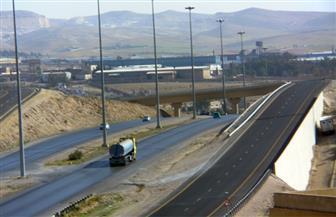 إغلاق الطريق الدائري جزئيا لإنشاء كوبرى مشاة بمنطقة الأوتوستراد