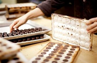 ضبط 64 ألف قطعة شيكولاتة مغشوشة وغير مطابقة للمواصفات داخل مصنع بالغربية
