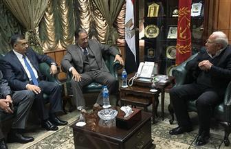 محافظ بورسعيد: بمجرد تطبيق قانون التأمين الصحي لن يذهب أي مريض للقاهرة   صور