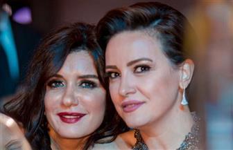 كيف احتفل آسر ياسين وكندة علوش بعيد ميلاد غادة عادل؟ | صور