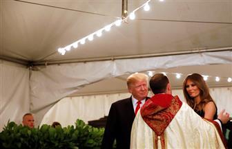 ترامب وميلانيا يحضران قداس عيد الميلاد في فلوريدا | صور