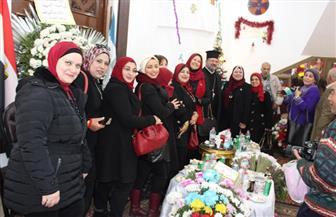 كنيسة الروم الأرثوذكس بدمياط تحتفل بعيد الميلاد وسط إجراءات أمنية مشددة | فيديو وصور