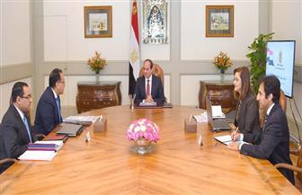 الرئيس السيسي يشدد على الانتهاء من شبكة مواصلات العاصمة الإدارية قبل نقل الوزارات
