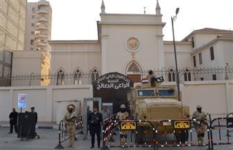دوريات ومجموعات قتالية وعناصر من الشرطة العسكرية والمدنية لتأمين احتفالات أعياد الميلاد