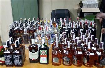 ضبط عاطل بحوزته 150 زجاجة خمور بقصد الاتجار فى القليوبية
