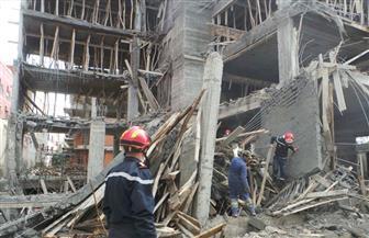 إصابة 3 عمال بناء فى انهيار سقف منزل تحت الإنشاء بالبحيرة