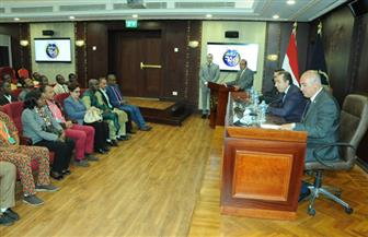 أمين عام الأعلى للإعلام في ضيافة قطاع الإعلام والعلاقات بوزارة الداخلية | صور