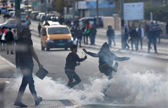 قوات الاحتلال تطلق قنابل الغاز والرصاص على المتظاهرين في بيت لحم | صور