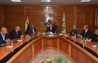 رئيس جامعة أسيوط يشارك في اجتماع التحالف القومي للمعرفة والتكنولوجيا | صور
