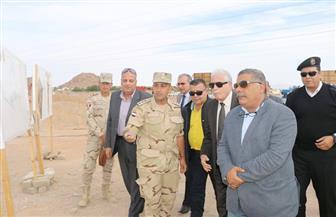 محافظ جنوب سيناء: بروتوكول لإنشاء 600 وحدة سكنية بالرويسات | صور