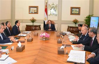 الرئيس السيسي يشدد على تأمين احتفالات رأس السنة والتصدي لتعديات الأراضي بمنتهى الحسم