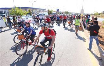 ماراثونان للدراجات الهوائية في قنا احتفالا بانتصارات أكتوبر