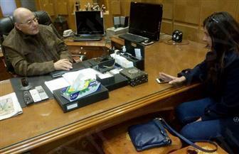 رئيس حزب الغد: نقف مع الرئيس السيسي ونؤيد ترشحه لفترة ثانية | صور