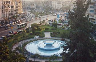 الانتهاء من تطوير نافورة ميدان روكسي بمصر الجديدة
