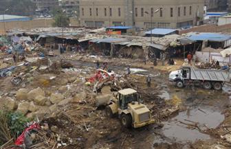 أجهزة الأمن بالقاهرة تنجح في تنفيذ إزالة سوق المنهل العشوائية بمدينة نصر   صور