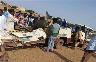 مصرع وإصابة 24 شخصا في حادث سير بالسودان