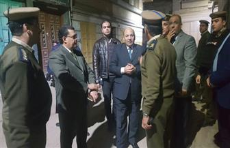مدير أمن دمياط الجديد يتفقد الخدمات الأمنية لتأمين احتفالات الأخوة الأقباط