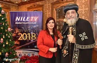 """البابا تواضروس يتحدث عن القدس وكنيسة العاصمة الإدارية في حوار على """"النيل الدولية"""""""