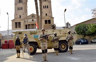 دوريات مكثفة من القوات المسلحة والشرطة لتأمين الاحتفال بالعام الميلادي الجديد