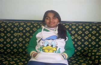 """""""سلوان"""" طالبة كفيفة تطالب بتوفير مرافق لها لمساعدتها فى الامتحانات"""