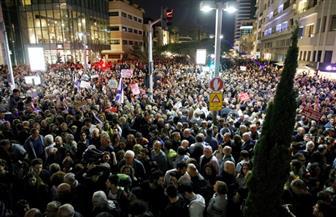 10 آلاف متظاهر إسرائيلي في تل أبيب يطالبون بإقالة نتنياهو