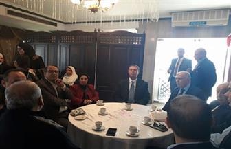 """وسط أجواء فلسطينية.. """"اتحاد المرأة"""" ينظم السوق الخيري الفلسطيني السنوي"""